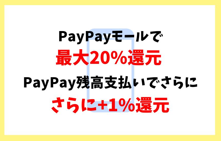 PayPayはPayPayモールと合わせて使うとお得